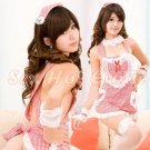 New Hot Women Lingerie Sexy Nurse Cosplay Adult Costume Dress NU# 36