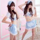 French Maid Costume Cosplay Japanese coat Lingerie Hot Sexy Cute women badydoll MC18