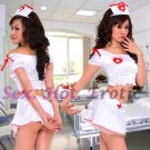 New Hot Women Lingerie Sexy Nurse Cosplay Adult Costume Dress NU# 38