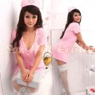 New Hot Women Lingerie Sexy Nurse Cosplay Adult Costume Dress NU# 41
