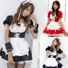 French Maid Costume Cosplay Japanese coat Lingerie Hot Sexy Cute women badydoll MC23