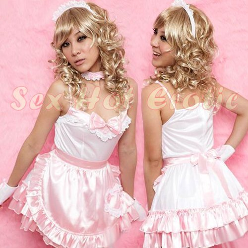 French Maid Costume Cosplay Japanese coat Lingerie Hot Sexy Cute women badydoll MC24