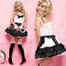 French Maid Costume Cosplay Japanese coat Lingerie Hot Sexy Cute women badydoll MC25