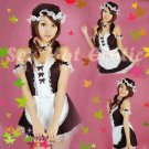 French Maid Costume Cosplay Japanese coat Lingerie Hot Sexy Cute women badydoll MC26