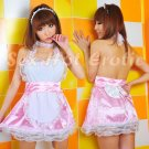 French Maid Costume Cosplay Japanese coat Lingerie Hot Sexy Cute women badydoll MC38