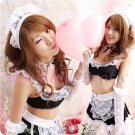 French Maid Costume Cosplay Japanese coat Lingerie Hot Sexy Cute women badydoll MC47