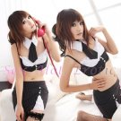 New Sexy Secretary Lingerie Hot Teacher Cosplay Adult Women Costume Dress OL# 03