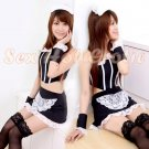 French Maid Costume Cosplay Japanese coat Lingerie Hot Sexy Cute women badydoll MC48