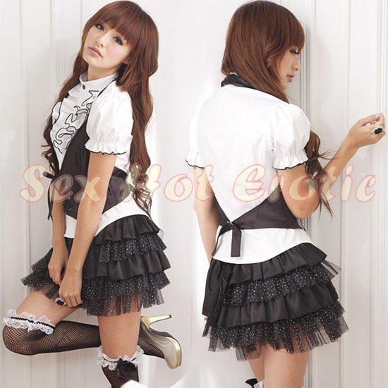 New Sexy Secretary Lingerie Hot Teacher Cosplay Adult Women Costume Dress OL# 06