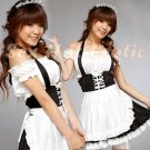 French Maid Costume Cosplay Japanese coat Lingerie Hot Sexy Cute women badydoll MC52
