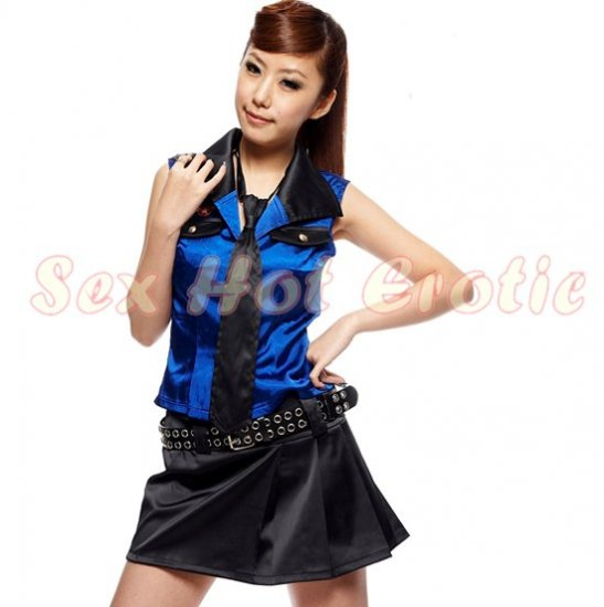 New Sexy Secretary Lingerie Hot Teacher Cosplay Adult Women Costume Dress OL#  07