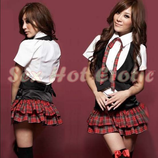 School girls teacher Costume Cosplay Japanese Lingerie Hot Sexy Cute women badydoll SG03