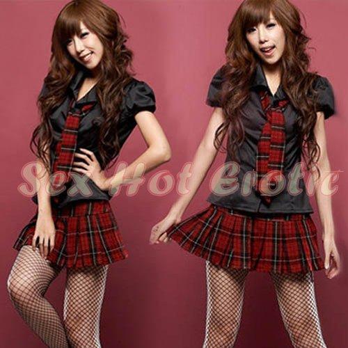 School girls teacher Costume Cosplay Japanese Lingerie Hot Sexy Cute women badydoll SG04