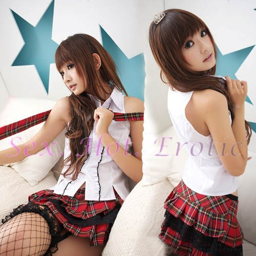 School girls teacher Costume Cosplay Japanese Lingerie Hot Sexy Cute women badydoll SG05