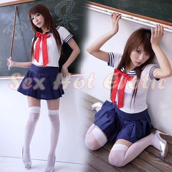 School Girls Teacher Costume Cosplay Japanese Lingerie Hot Sexy Cute Women Badydoll Sg13-3065