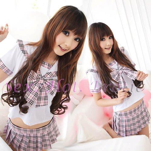 School girls teacher Costume Cosplay Japanese Lingerie Hot Sexy Cute women badydoll SG15