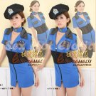 New SEXY & HOT Police Cosplay Dress Navy GIRL Costume Lingerie PO# 08