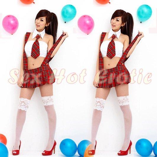 School girls teacher Costume Cosplay Japanese Lingerie Hot Sexy Cute women badydoll SG23A