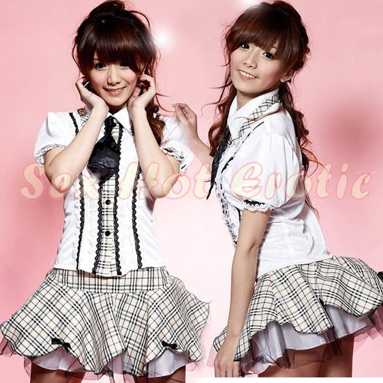 School Girls Teacher Costume Cosplay Japanese Lingerie Hot Sexy Cute Women Badydoll Sg25-7836