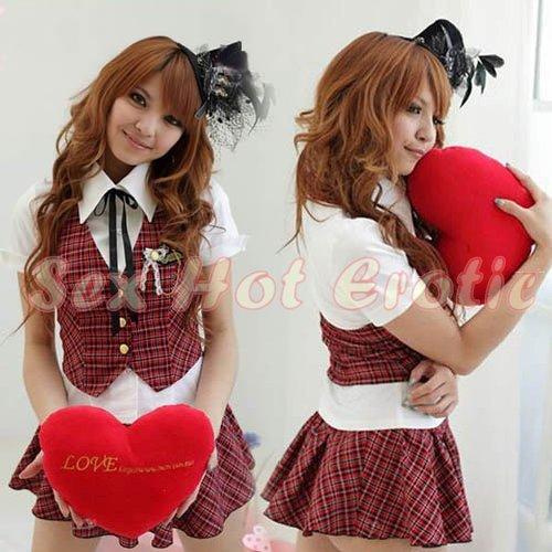 School girls teacher Costume Cosplay Japanese Lingerie Hot Sexy Cute women badydoll SG26