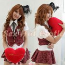 School girls teacher Costume Cosplay Japanese Lingerie Hot Sexy Cute women badydoll SG26