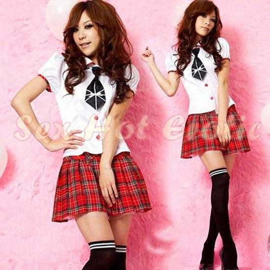 School girls teacher Costume Cosplay Japanese Lingerie Hot Sexy Cute women badydoll SG37