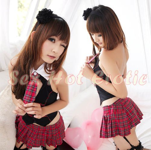 School girls teacher Costume Cosplay Japanese Lingerie Hot Sexy Cute women badydoll SG39
