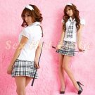 School girls teacher Costume Cosplay Japanese Lingerie Hot Sexy Cute women badydoll SG43