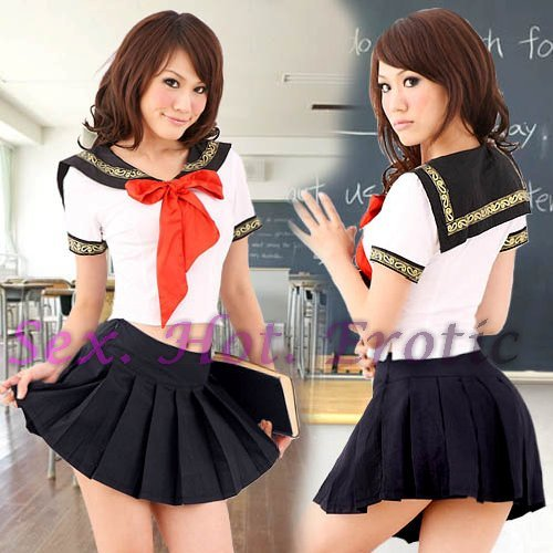School girls teacher Costume Cosplay Japanese Lingerie Hot Sexy Cute women badydoll SG44