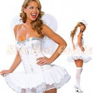 New Holloween Party SEXY & HOT Angel Women Cosplay Dress Navy GIRL Costume Lingerie AD# 06
