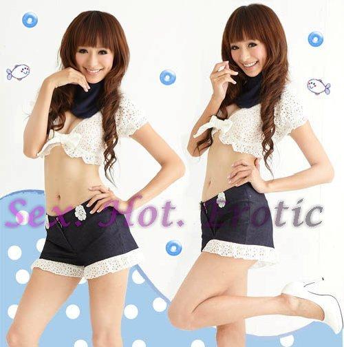 Top & Skirt & Bikini Sexy Lingerie Hot & Cute women underwear sleep dress badydoll TS06