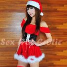 New SEXY & HOT Christmas Girl Cosplay Dress Cute women Costume Lingerie CM# 08