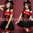 New SEXY & HOT Pirate Girl Cosplay Dress Cute women Costume Lingerie P# 01