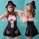 New SEXY & HOT Pirate Girl Cosplay Dress Cute women Costume Lingerie P# 03