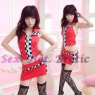 New SEXY & HOT Race Girl Cosplay Dress Cute women Costume Lingerie RG# 02