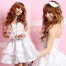 Princess Lolita Cake dress Costume Cosplay Japanese Hot Sexy Cute women badydoll PI08