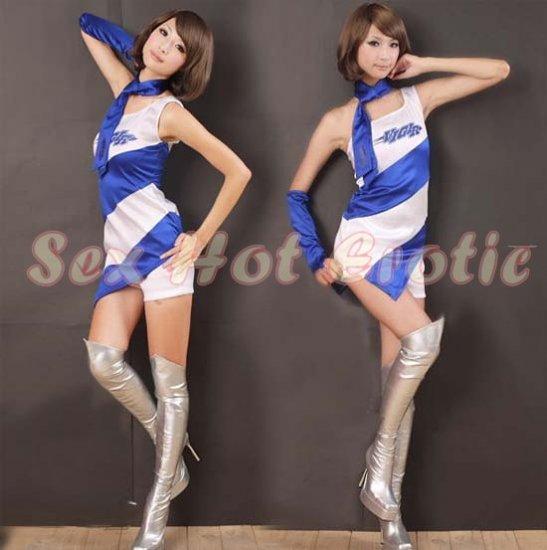 New SEXY & HOT Race Girl Cosplay Dress Cute women Costume Lingerie RG# 05