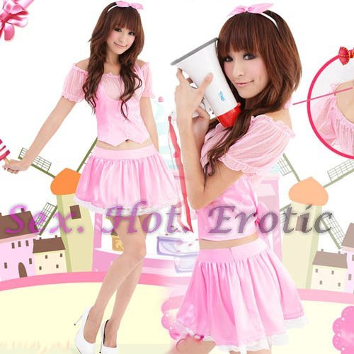 Princess Lolita Cake dress Costume Cosplay Japanese Hot Sexy Cute women badydoll PI10