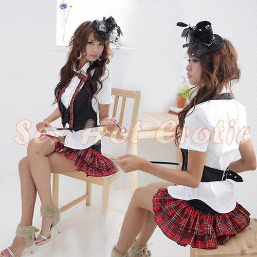 Princess Lolita Cake dress Costume Cosplay Japanese Hot Sexy Cute women badydoll PI11
