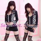 New SEXY & HOT Race Girl Cosplay Dress Cute women Costume Lingerie RG# 08