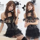 Princess Lolita Cake dress Costume Cosplay Japanese Hot Sexy Cute women badydoll PI14