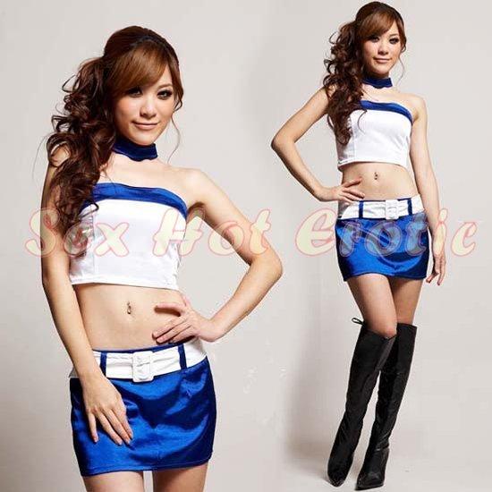 New SEXY & HOT Race Girl Cosplay Dress Cute women Costume Lingerie RG# 09