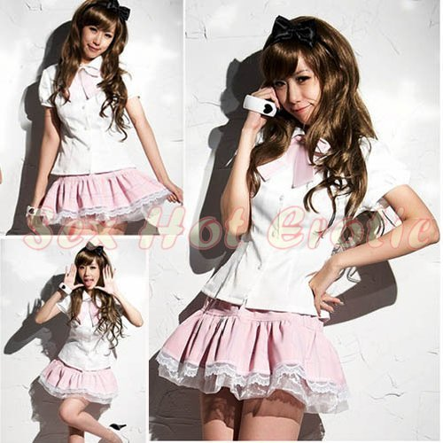 Princess Lolita Cake dress Costume Cosplay Japanese Hot Sexy Cute women badydoll PI16
