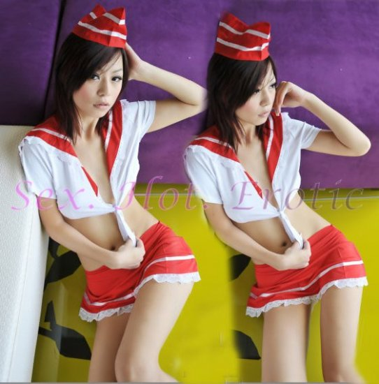 New SEXY & HOT Sailor Girl Cosplay Dress Cute women Costume Lingerie SA# 15