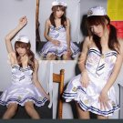 New SEXY & HOT Sailor Girl Cosplay Dress Cute women Costume Lingerie SA# 17