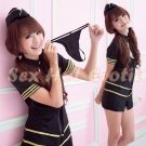 New SEXY & HOT Flight Attendant Stewardess Girl Cosplay Dress Cute women Costume Lingerie FA# 03