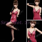 Clubbing Evening Stage Dancer Dress Sexy Lingerie Hot Cute women dress badydoll CD02B