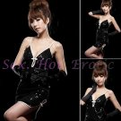 Clubbing Evening Stage Dancer Dress Sexy Lingerie Hot Cute women dress badydoll CD02C