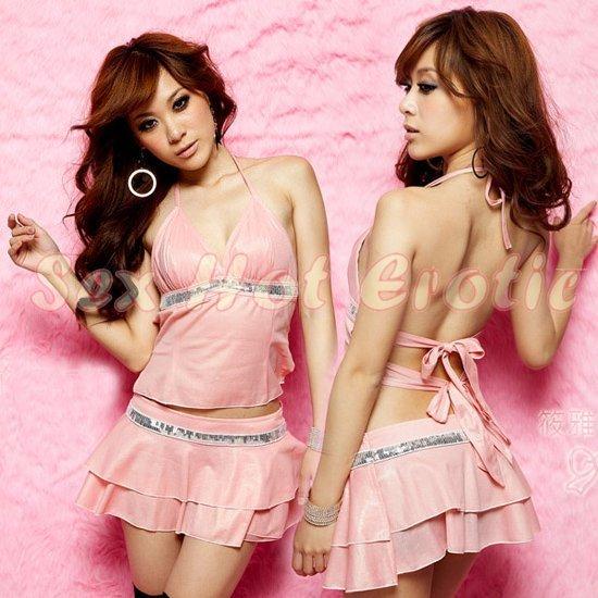 Clubbing Evening Stage Dancer Dress Sexy Lingerie Hot Cute women dress badydoll CD04