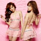 Clubbing Evening Stage Dancer Dress Sexy Lingerie Hot Cute women dress badydoll CD04